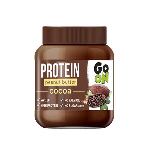 GoOn Protein Peanut Butter 350 грамм, какао