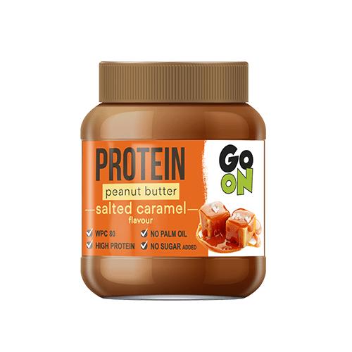Go On Protein Peanut Butter 350 грамм, соленая карамель
