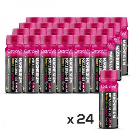 OstroVit  Magnesium-Potassium + B6 Shot, 20*80 мл