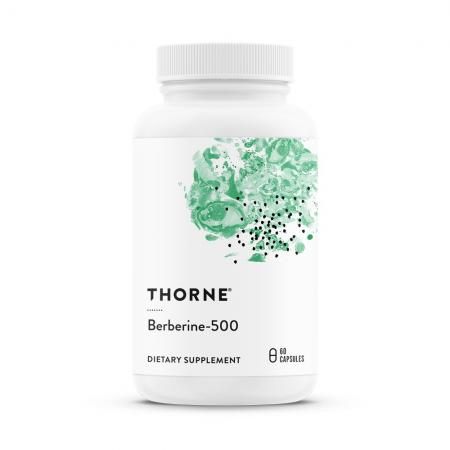 Thorne Berberine-500, 60 капсул
