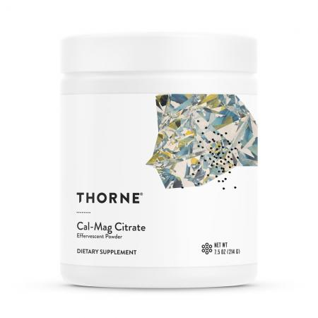 Thorne Cal-Mag Citrate, 214 грам