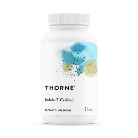 Thorne Indole-3-Carbinol, 60 капсул