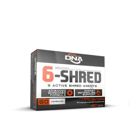 DNA Supps 6-Shred, 60 капсул