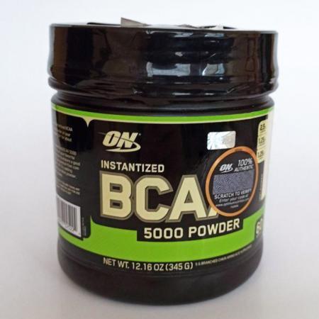 Optimum BCAA 5000 Powder, 345 грамм БРАК ПЛОМБЫ front