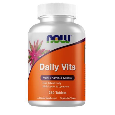 NOW Daily Vits, 250 таблеток