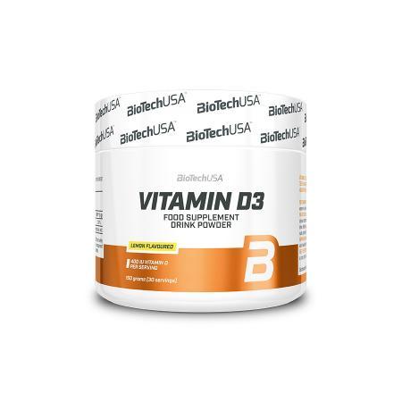 BioTech Vitamin D3, 150 грамм