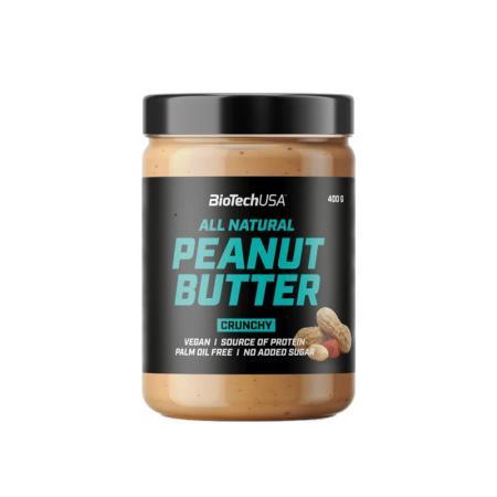 BioTech Peanut Butter, 400 грамм - Crunchy