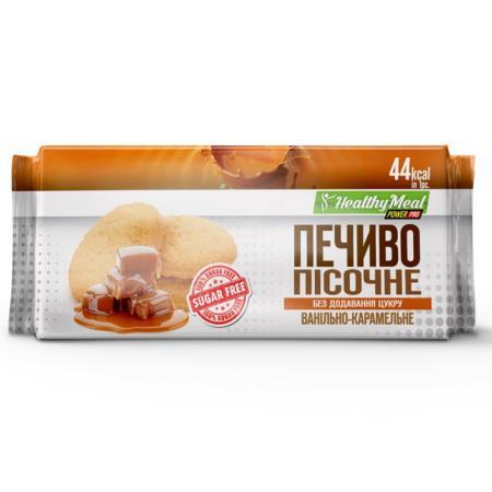 Power Pro Cookie Sugar Free, 8*80 грамм  - ваниль-карамель