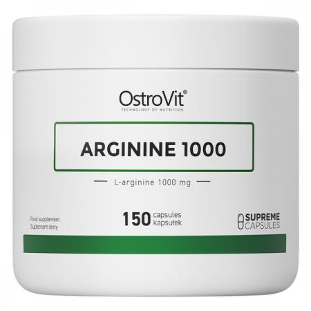 OstroVit Arginine 1000, 150 капсул