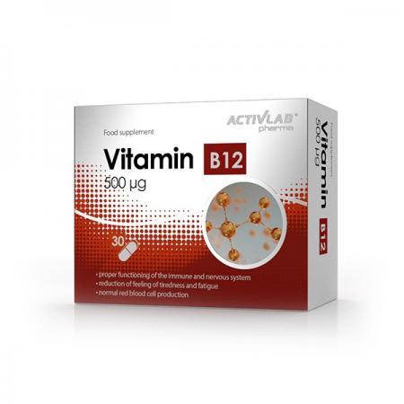 Activlab Vitamin  B12 500 mcg, 30 таблеток