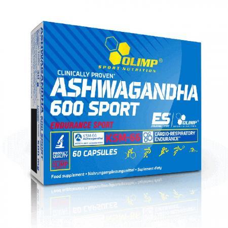Olimp Ashwagandha 600 Sport , 60 капсул