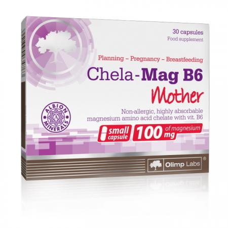 Olimp Chela-Mag B6 Mama, 30 капсул