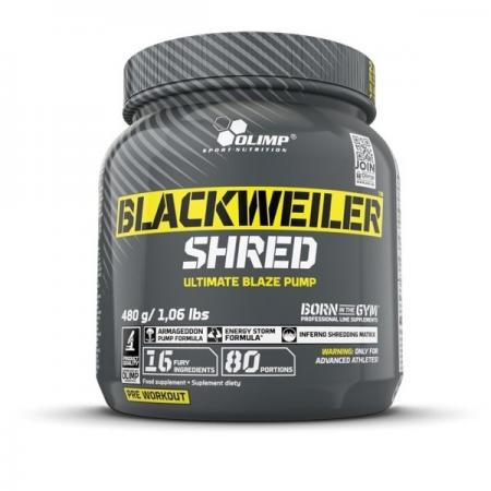 Olimp BlackWeiler Shred, 480 грамм