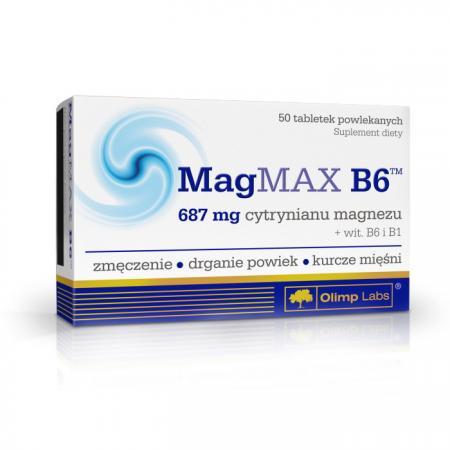 Olimp Mag MAX B6, 50 таблеток