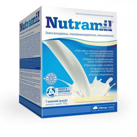 Olimp Nutramil complex, 7*72 грамма