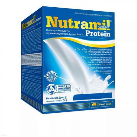 Olimp Nutramil Complex Protein, 6*70 грамма
