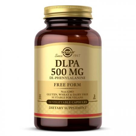 Solgar DLPA 500 mg, 50 вегакапсул