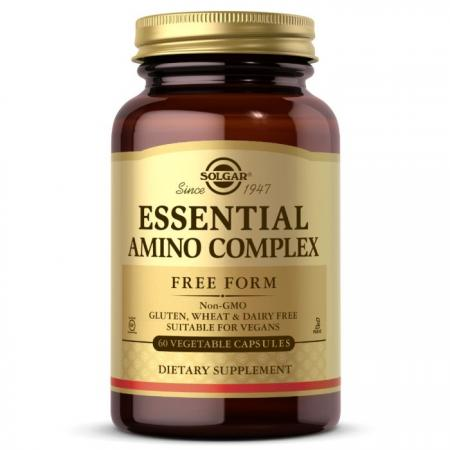 Solgar Essential Amino Complex, 60 вегакапсул