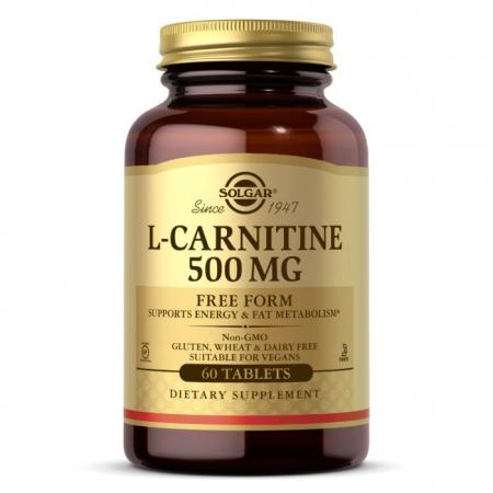Solgar L-Carnitine 500 mg, 60 таблеток