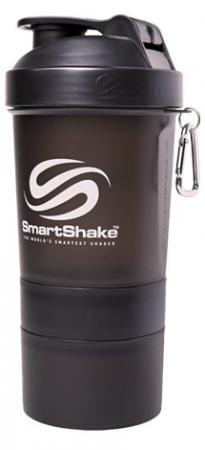 Шейкер Smart Shake, 400 мл - черный