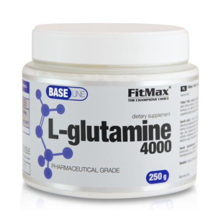 FitMax Base L-Glutamine, 250 грамм