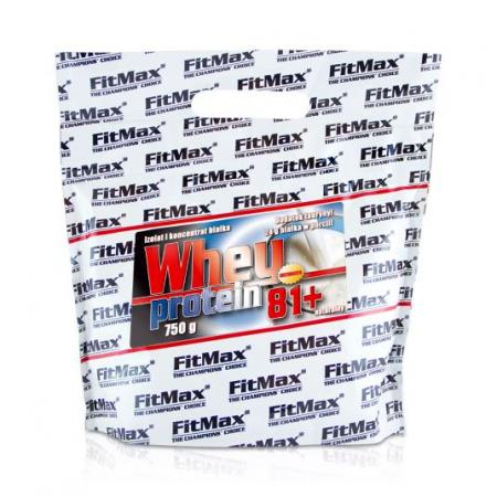FitMax Whey Protein 81+, 750 грамм