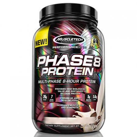 Muscletech Phase8 Protein, 908 грамм