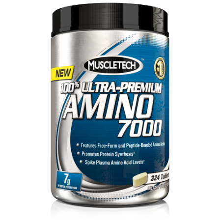Muscletech 100% Ultra-Premium Amino 7000, 324 таблетки