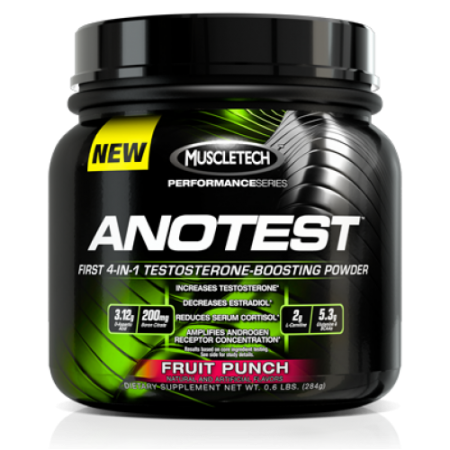 Muscletech Anotest, 284 грамма
