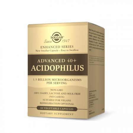 Solgar Advanced 40+ Acidophilus, 60 вегакапсул