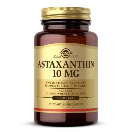 Solgar Astaxanthin 10 mg, 30 капсул