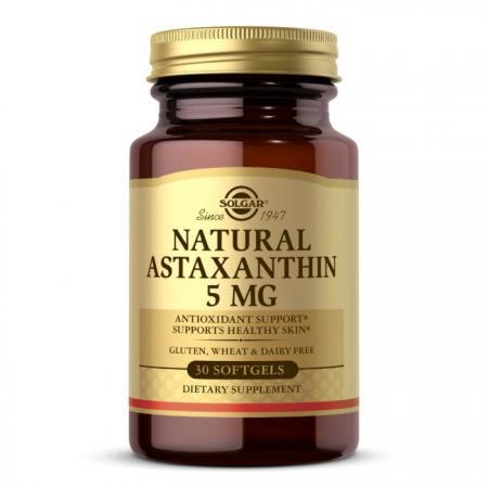 Solgar Natural Astaxanthin 5 mg, 30 капсул