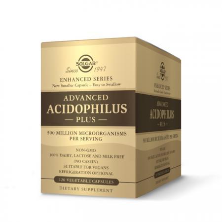 Solgar Advanced Acidophilus Plus, 120 вегакапсул