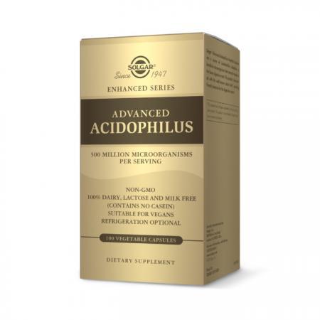 Solgar Advanced Acidophilus, 100 вегакапсул