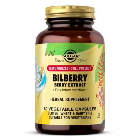 Solgar SFP Bilberry Berry Extract, 60 вегакапсул