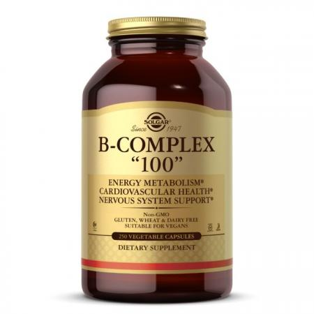Solgar B-Complex 100, 250 вегакапсул