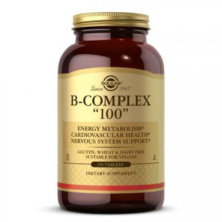 Solgar B-Complex 100, 250 таблеток