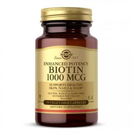 Solgar Biotin 1000 mcg, 50 таблеток