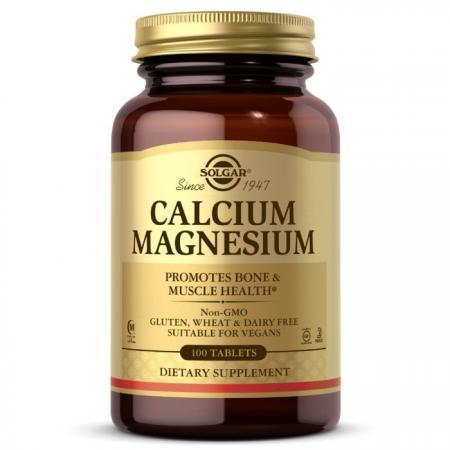 Solgar Calcium Magnesium, 100 таблеток