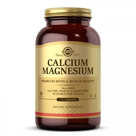 Solgar Calcium Magnesium, 250 таблеток
