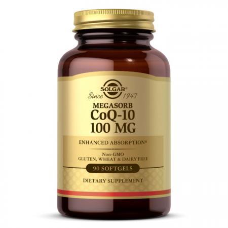 Solgar Megasorb CoQ-10 100 mg, 90 капсул