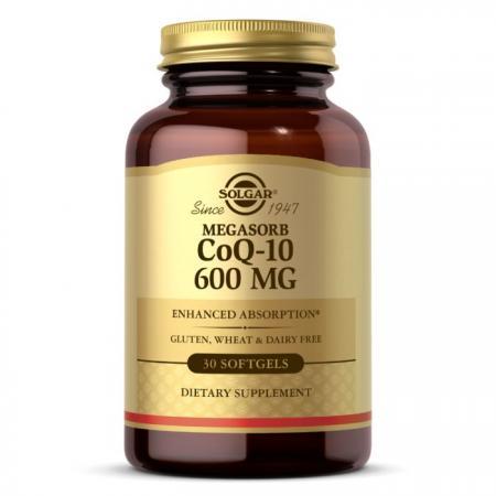 Solgar Megasorb CoQ-10 600 mg, 30 капсул
