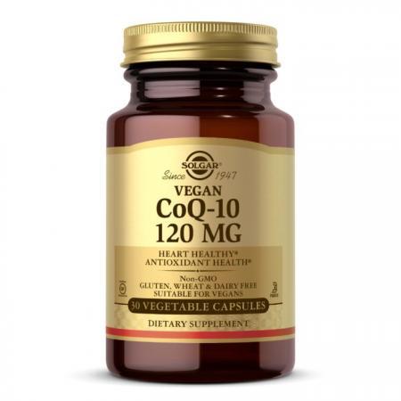 Solgar Vegetarian CoQ-10 120 mg, 30 вегакапсул