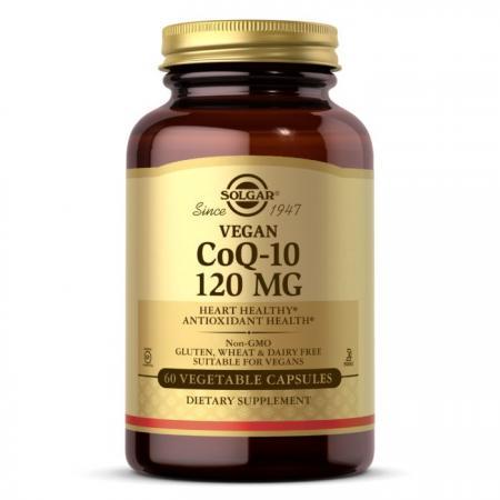 Solgar Vegetarian CoQ-10 120 mg, 60 вегакапсул