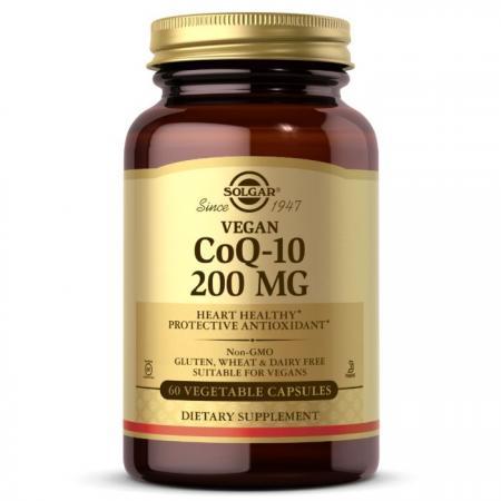 Solgar Vegetarian CoQ-10 200 mg, 60 вегакапсул