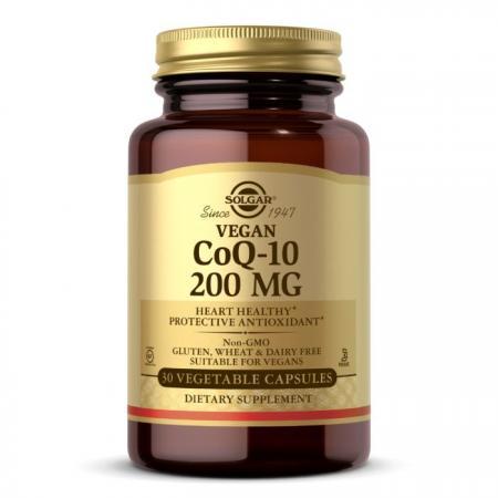 Solgar Vegetarian CoQ-10 200 mg, 30 вегакапсул