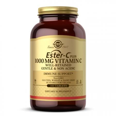 Solgar Ester-C Plus Vitamin C 1000 mg, 180 таблеток