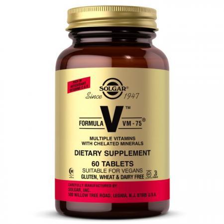 Solgar Formula V VM-75, 60 таблеток