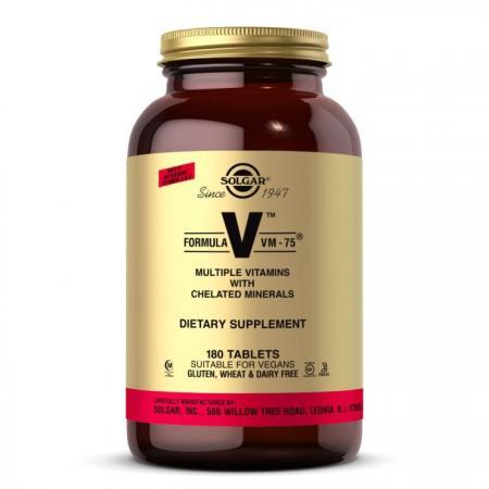 Solgar Formula V VM-75, 180 таблеток