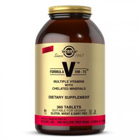 Solgar Formula V VM-75, 360 таблеток